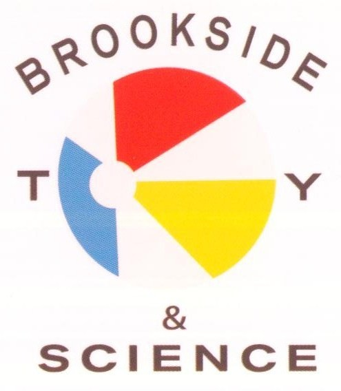 Brookside Toy & Science Logo