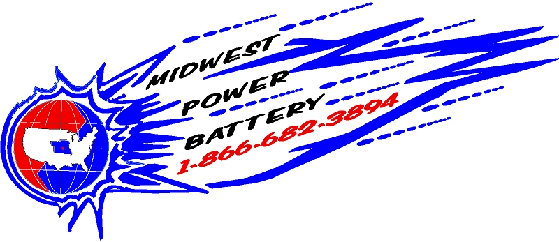Midwest Power Battery Logo