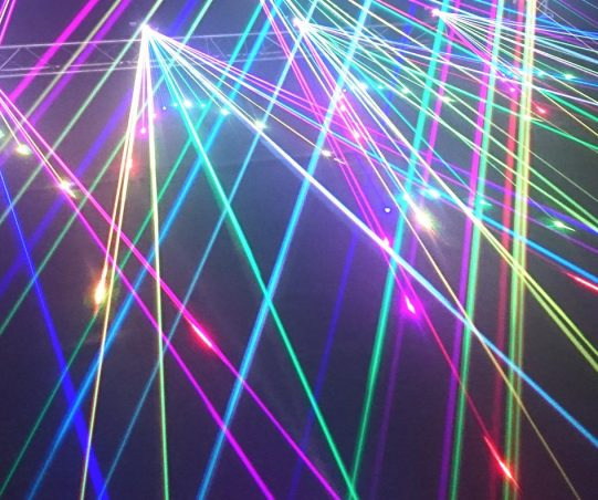 Color Lights Abstract Background