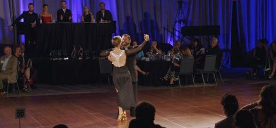 Video Screenshot of Susan Rhyner & Rafael Labrado 2021 BMA Dine & Dance With The Stars With Judges